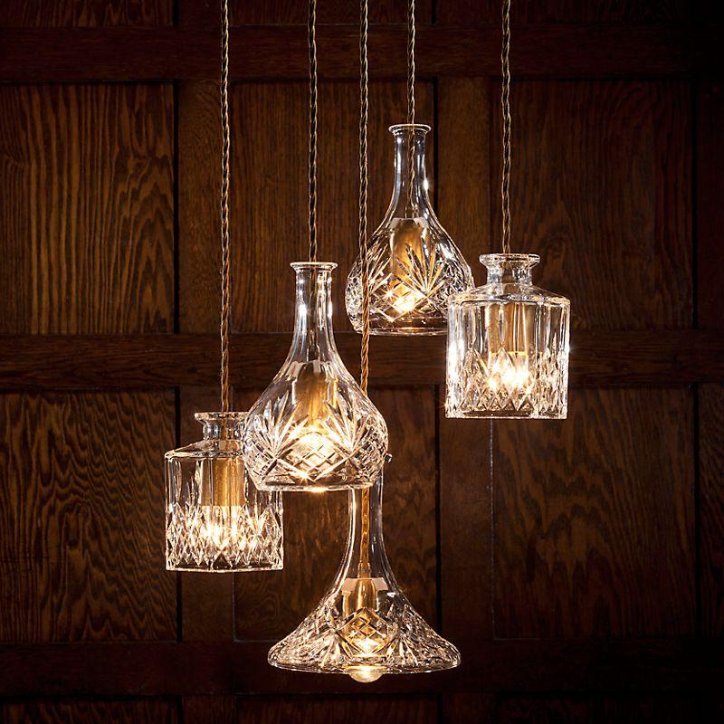 Carousel Img Bottle Pendant Light Pendant Lights Chandeliers Wine Decanter