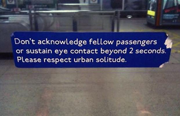 Proper Subway Etiquette