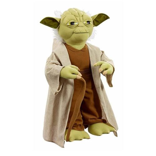 Star Wars Yoda Talking 26 Inch Tall Plush Star Wars Star Wars