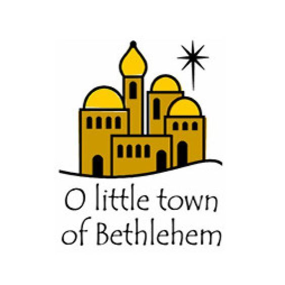 inkwell stamps o little town of bethlehem clip art and fonts rh pinterest com bethlehem star clipart free bethlehem clipart free