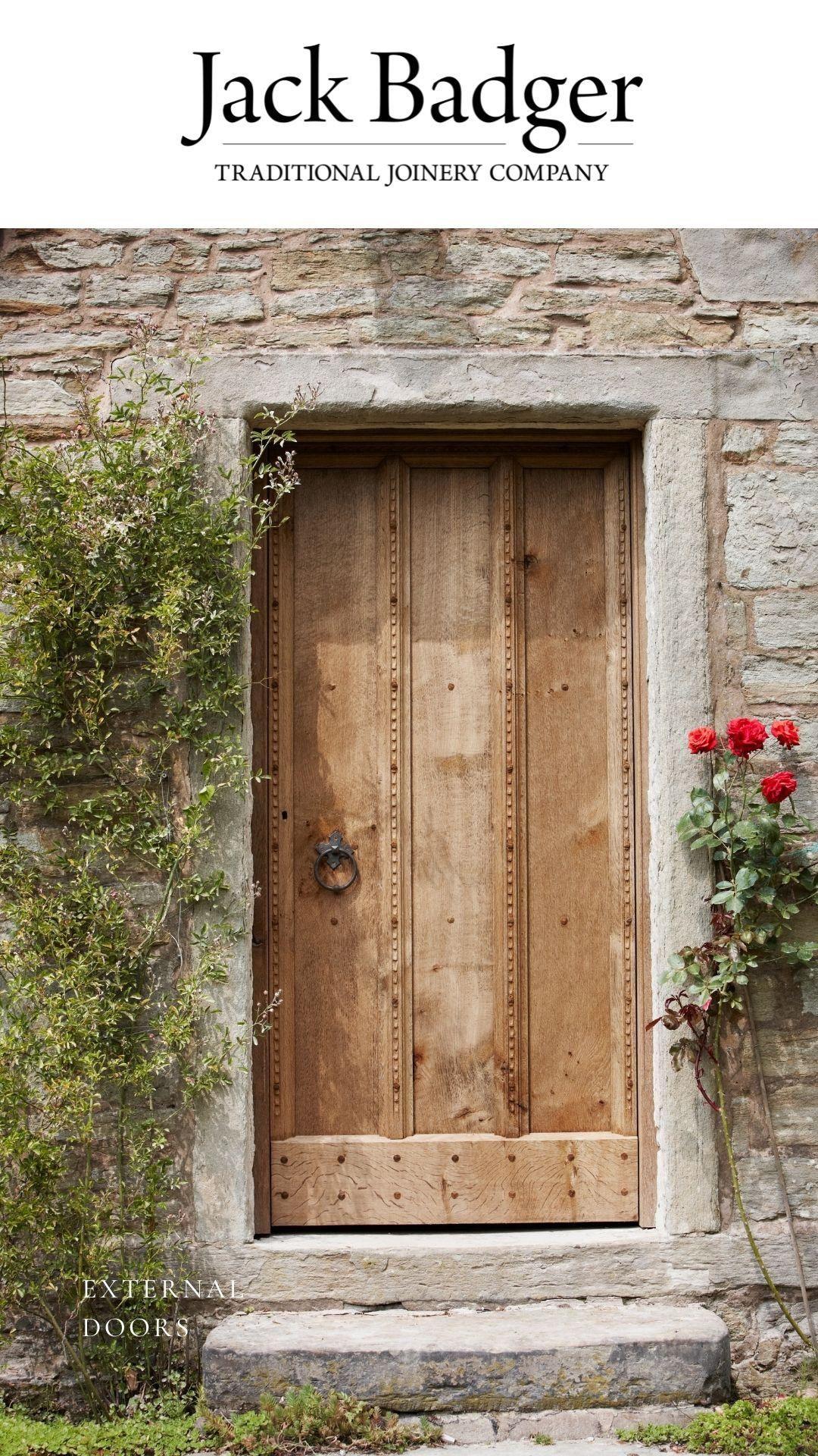 A Showcase Of Handmade External Oak Doors