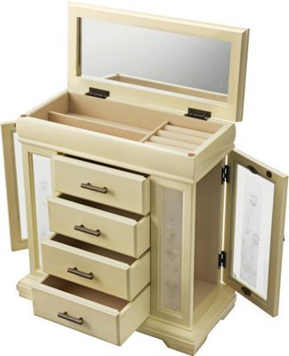 Buy Large Four Drawer Vintage Jewellery Box At Argoscouk