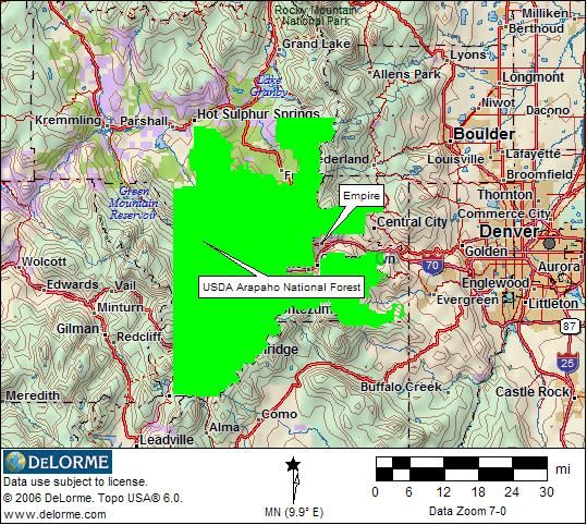 national forests in colorado map » Full HD MAPS Locations - Another ...