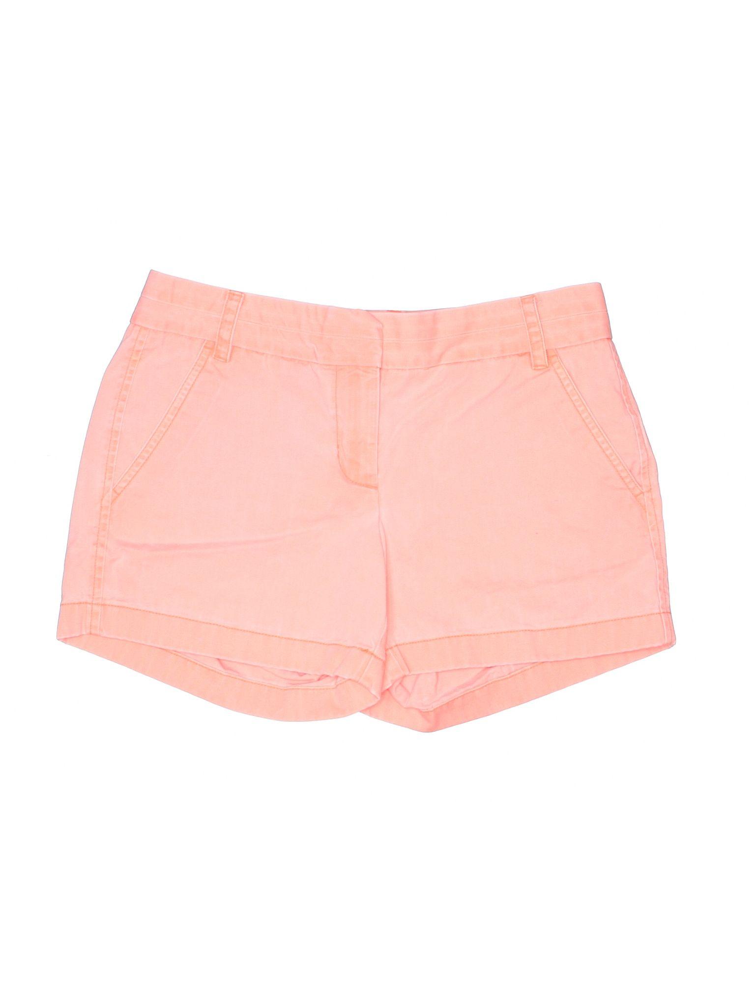 J Crew Khaki Shorts Size 200 Coral Womens Bottoms