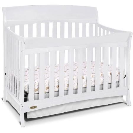 Check Out The Product Reviews Around Convertible Furniture Crib For Baby,  Graco Lennon Convertible Crib, White Adjustable Mattress Heights To  Accommodate ...