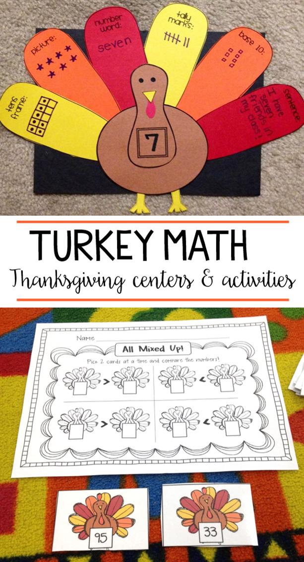 Turkey Math - Susan Jones