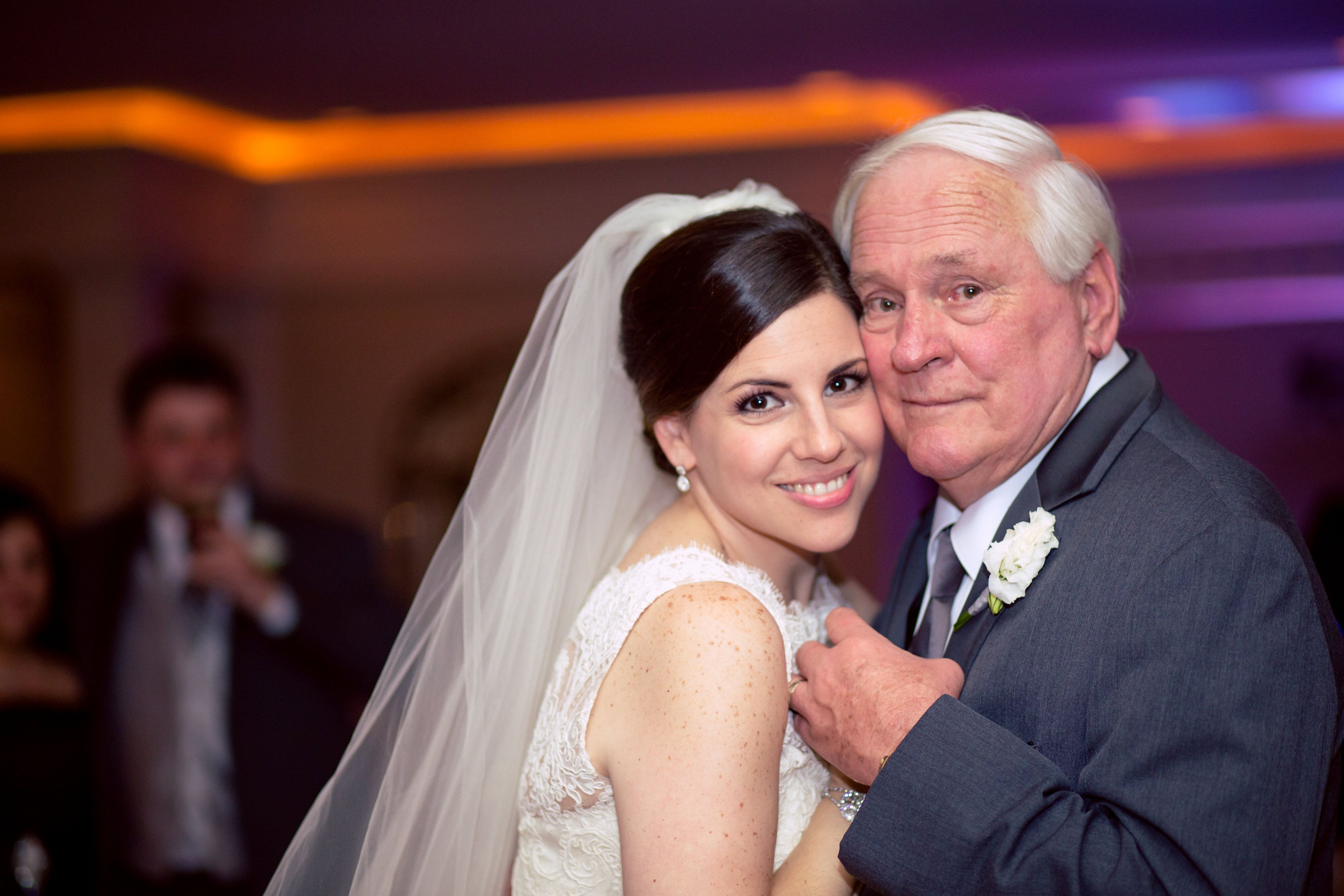 Father And Daughter Wedding Reception Dance Floor Photography