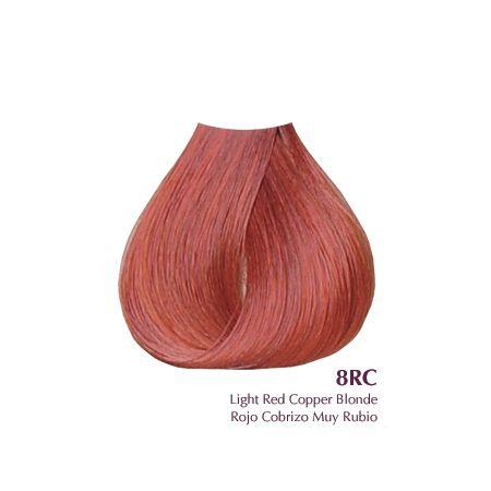 Satin 8rc Light Red Copper Blonde 3oz Copper Blonde Ion Color