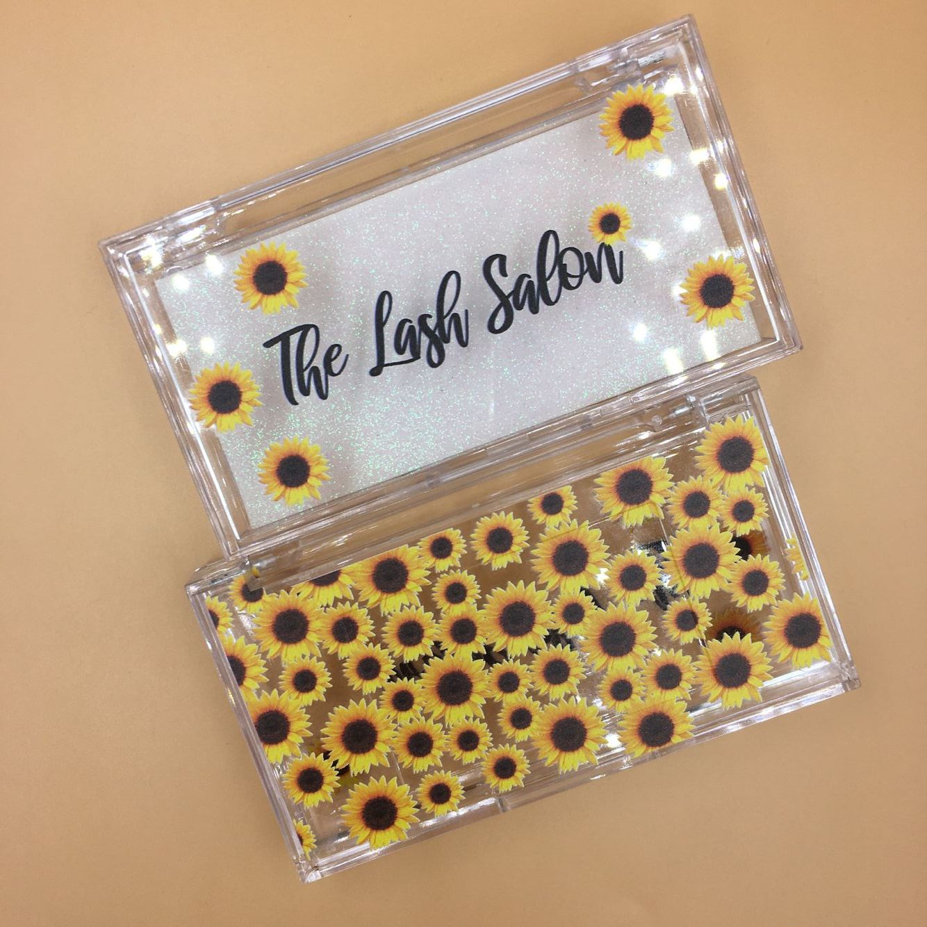 custom eyelash sunflower packaging in 2020 Eyelash case