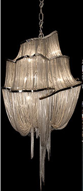 Imperfect chandelier