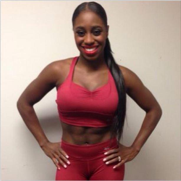 follow the gorgeous trinity_fatu, (aka Naomi from the WWE ...