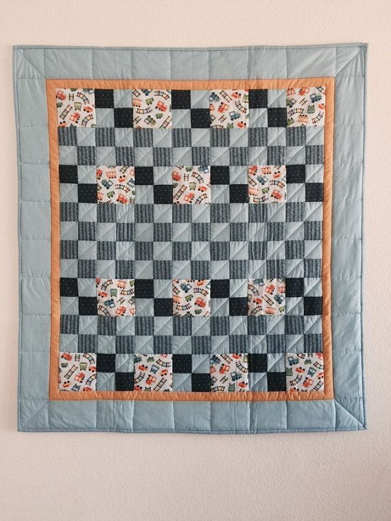 Baby Quilts SALE PRICE, Baby Quilts, Baby boy quilt, Pieced baby ... : stroller quilt size - Adamdwight.com