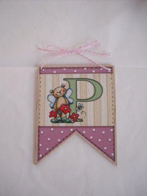 Banner targa decorativa iniziali p targhe decorative for Targhe decorative in legno