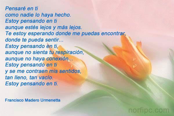 Imagen con lindo poema de poema de amor de Antonio M ...