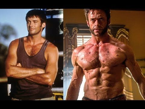 Hugh Jackman Amazing Body Transformation Of 48 Years Old Wolverine Youtube Transformation Body Hugh Jackman Body