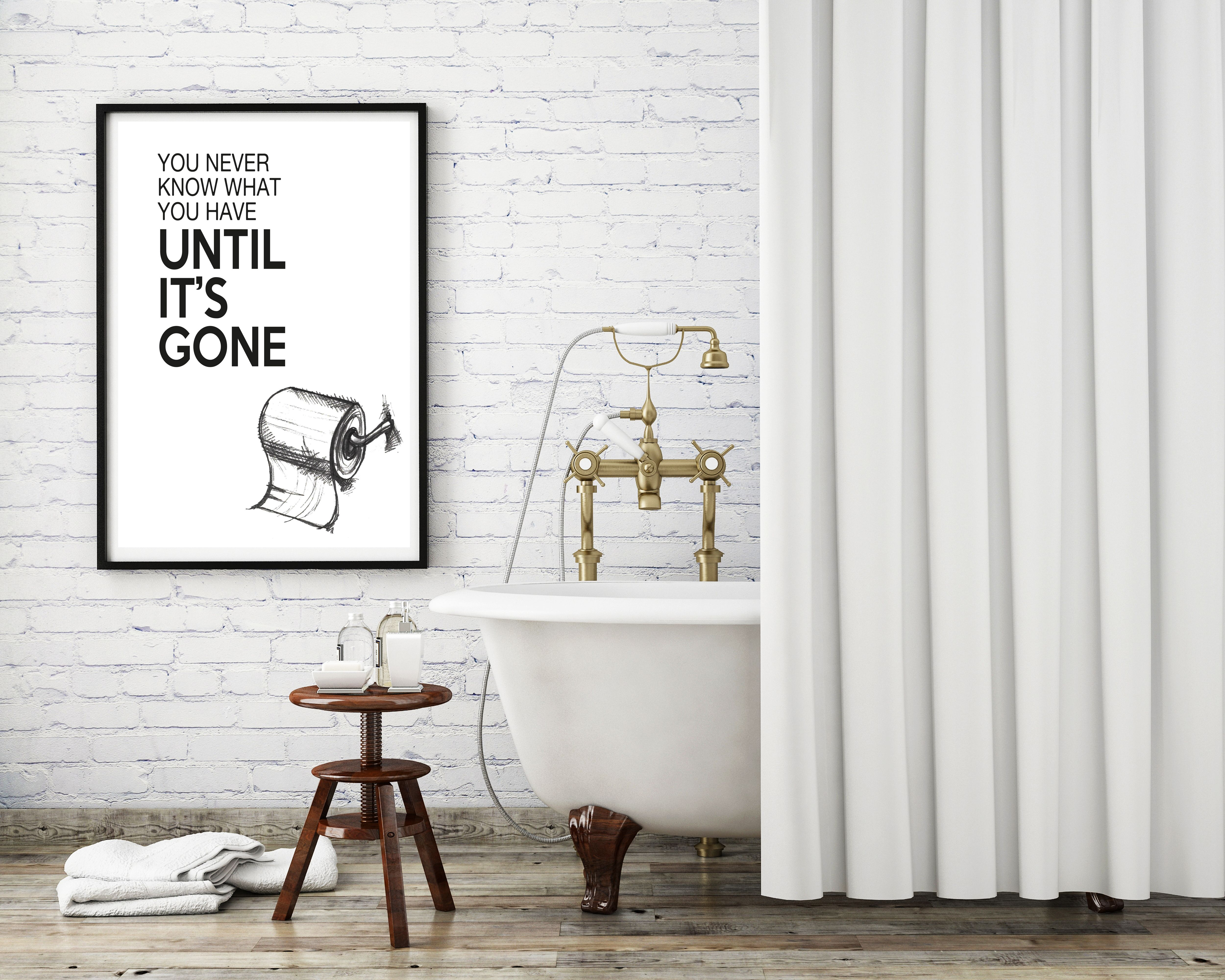 Toilet Wall Art Toilet Sign Funny Toilet Sign Funny Loo Sign Toilet Print