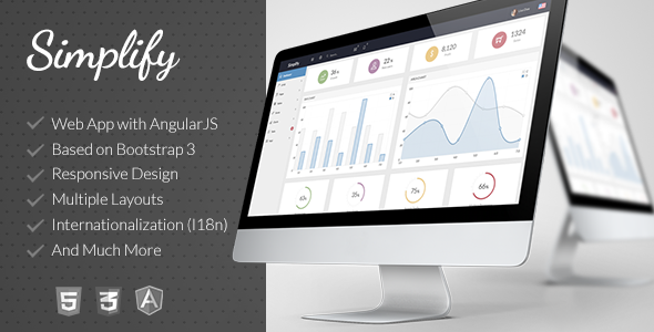 This Deals Simplify Responsive Admin App with