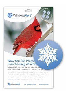 Window Alert Snowflake Decals By Window Alert  Helps Reduce - Window alert decals for birds