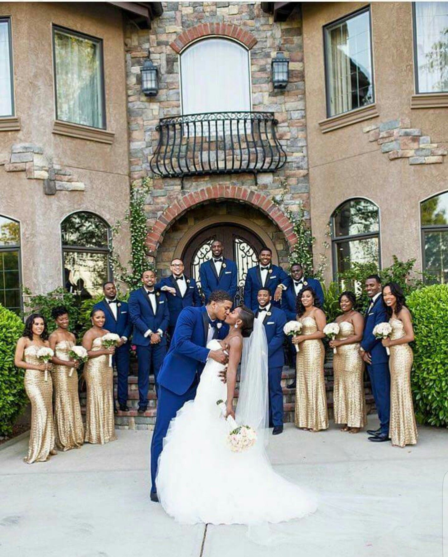 Blue And Black Wedding Ideas: Follow Us @SIGNATUREBRIDE On Twitter And On FACEBOOK