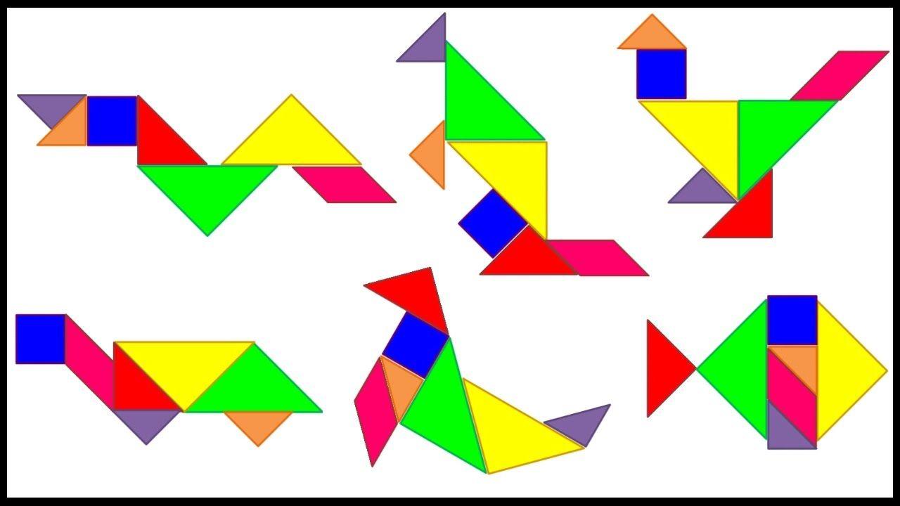gerelateerde afbeelding  tangram animals turtle