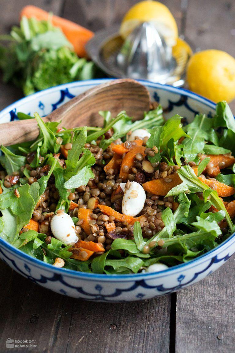 Arabic lentil salad – madame cuisine  – Rezepte Sonstiges