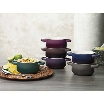 Gourmet Basics by Mikasa 6-piece Ombre Bowl Set   I want that ...