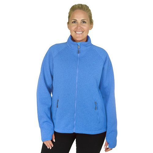 edcbd7d28ea Plus Size Champion Sherpa-Lined Fleece Jacket