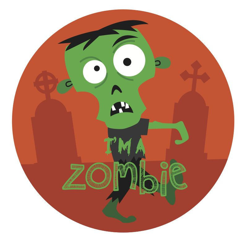 Easygoing. Messy. Hungry.  Are you a Zombie? Find out with our Halloween Personality Quiz: https://quiz.visualdna.com/halloween