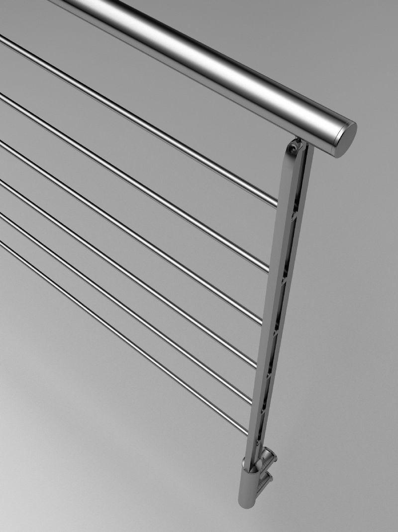 Barandillas de inoxidable escaleras metalicas pasamanos - Barandillas y pasamanos ...