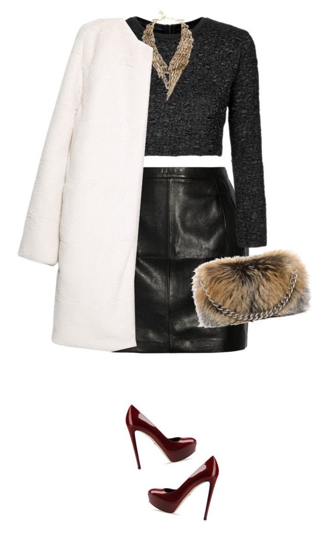"""""""luxury fashion"""" by gorgeous-stacy ❤ liked on Polyvore featuring BLK DNM, Sergio Rossi, Topshop, BCBGMAXAZRIA, Alexander McQueen and MANGO"""