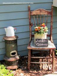 garden junk ideas - Google Search