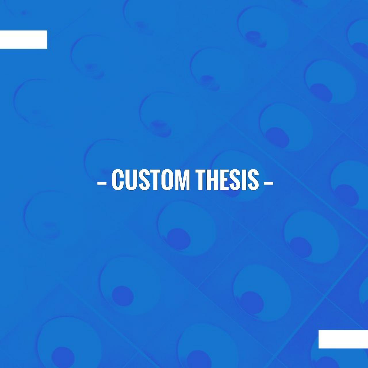 Thesis custom post loop
