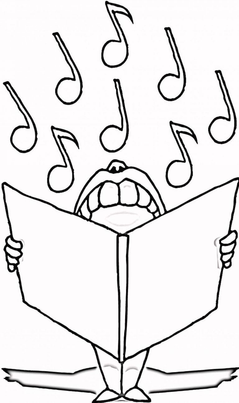 Free Printable Music Note Coloring Pages For Kids (With Images