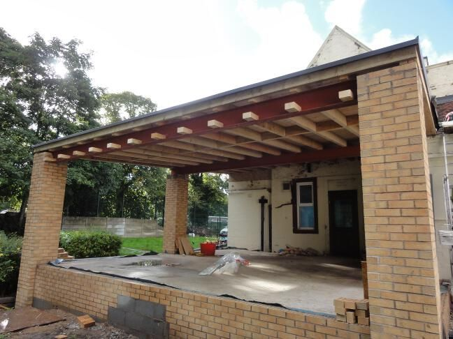 Best Flat Roof Timber Frame Construction Google Search Roof 400 x 300
