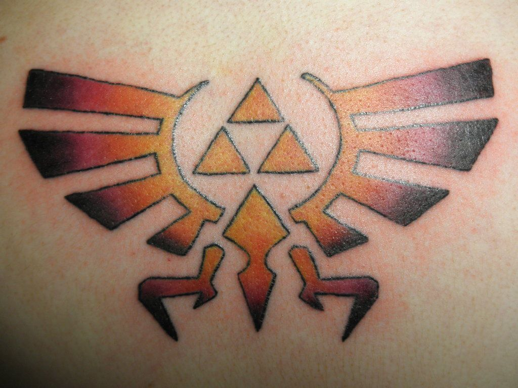Triforce! Zelda tattoo, Nerdy tattoos, Legend of zelda