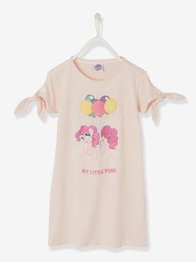 Chemise de nuit My Little Pony® motifs matière fantaisie rose pale – My little pony