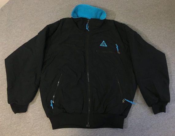 30042723d1caf NIKE ACG FLEECE Jacket 90's Vintage/ Full Zip Mount Robson Canada ...