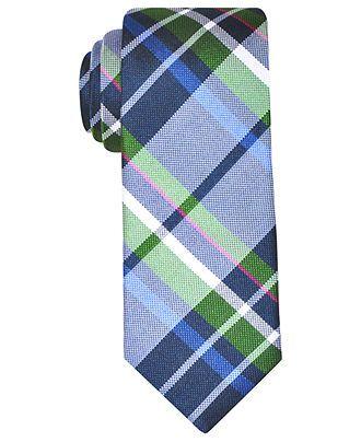 ae2a42d09716 Ben Sherman Tie, Skinny London Large Plaid - Mens Ties - Macy's ...