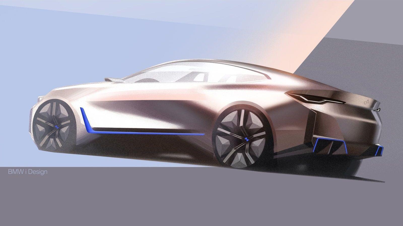 2020 Bmw I4 Concept In 2020 Bmw Concept Bmw Design Bmw