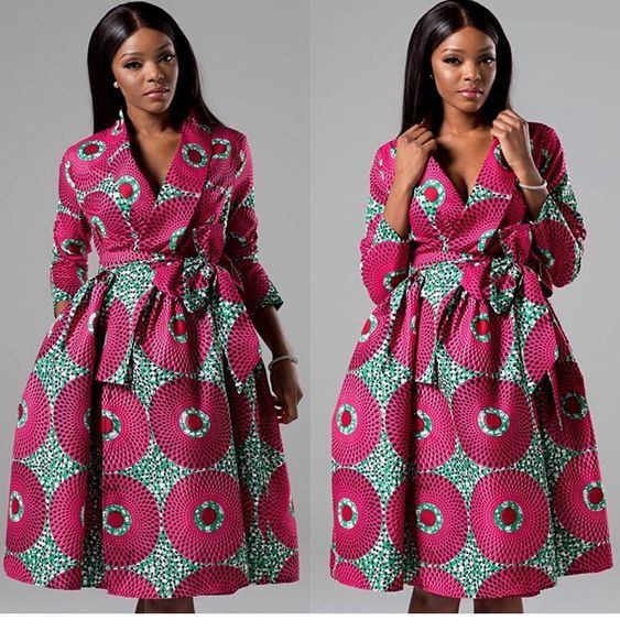 African Maxi Print Dress 2018: African office wear style: stylish ...