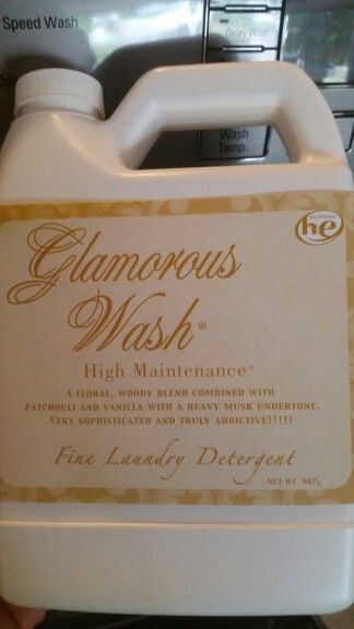 Glamorous Wash High Maintenance Laundry Detergent By Tyler Candle Company Love This Stuff And The Other Products Tyler Candles Tyler Candle Company