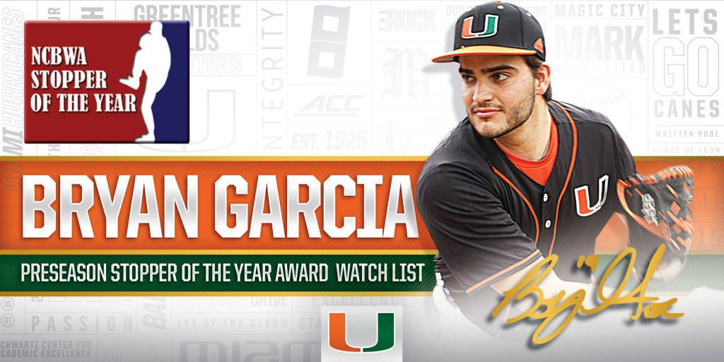Garcia Named to Stopper of the Year Watch List