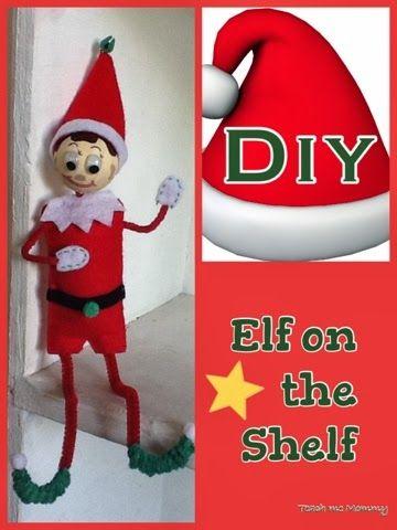 DIY Elf on the Shelf | Pinterest
