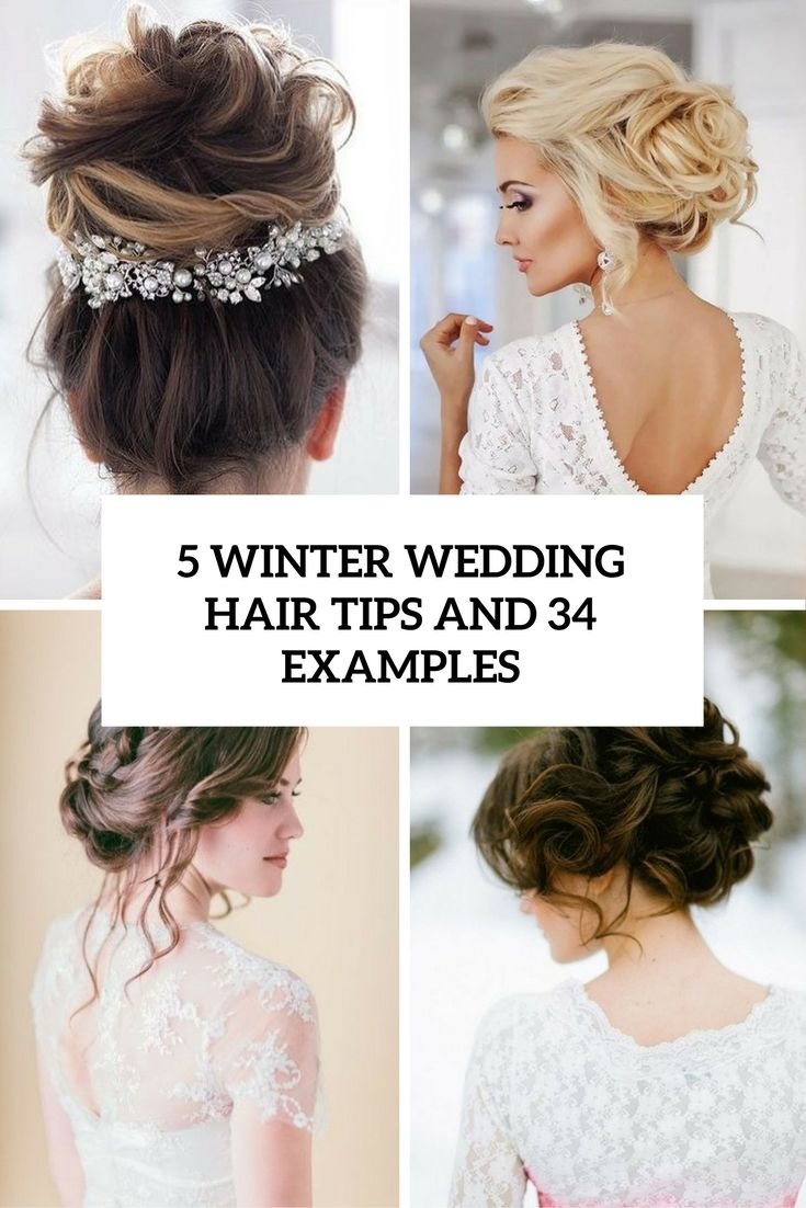 5 Winter Hochzeit Haar Tipps und 34 Beispiele