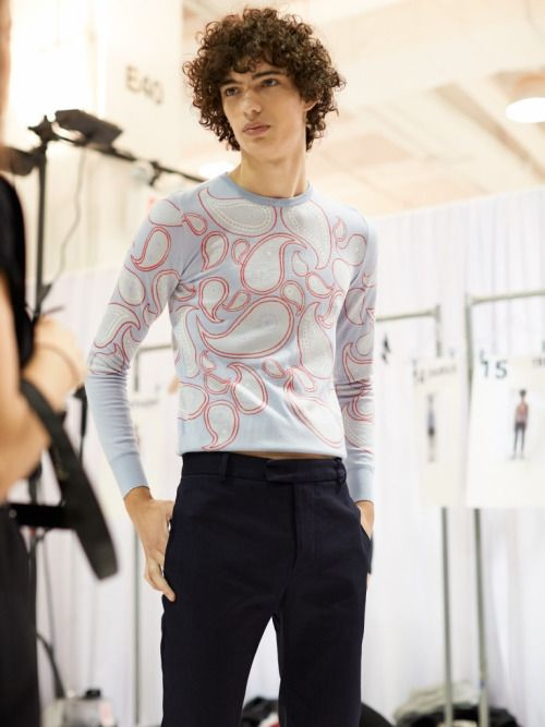 Piero Mendez @ Orley S/S 16 ph Eric White
