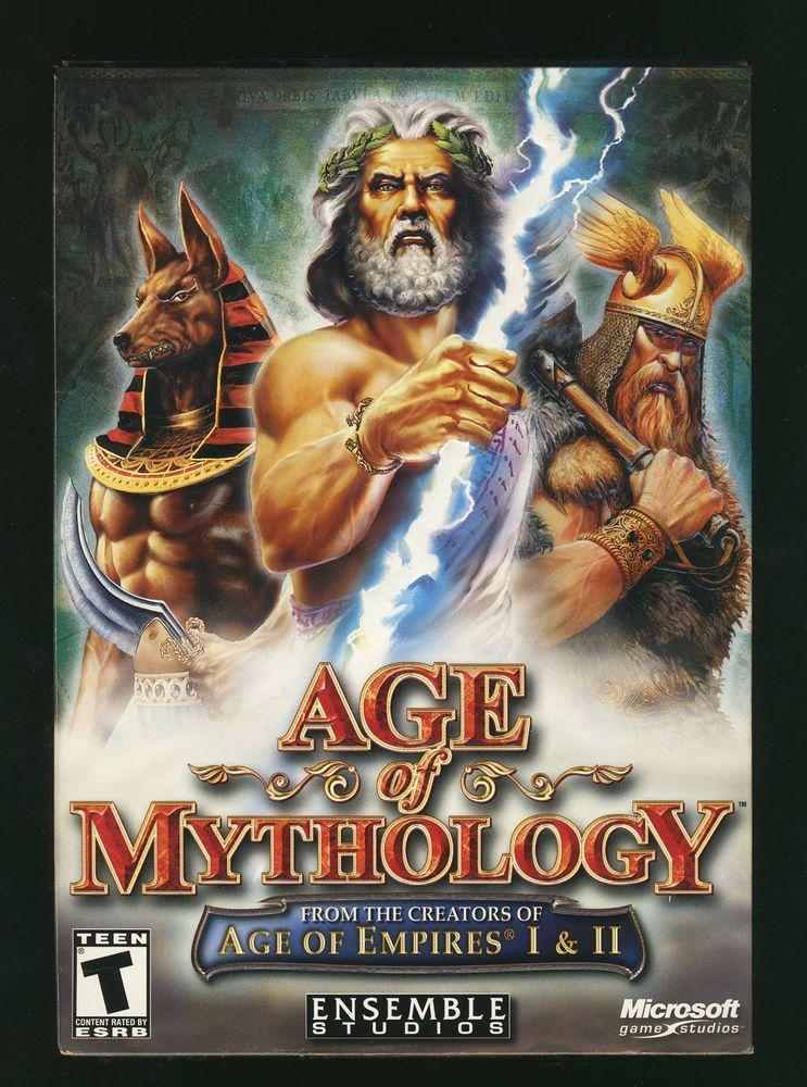 Age Of Mythology Pc 2002 Windows 98 2000 Xp Me Vg Complete