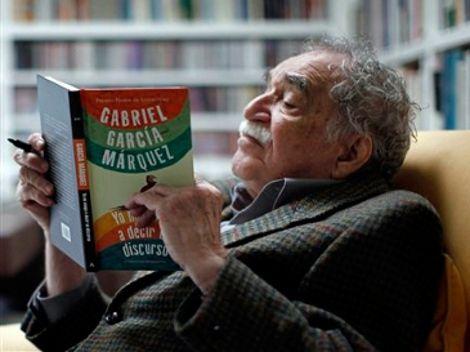 Gabriel García Márquez leyendo a Gabriel García Márquez.