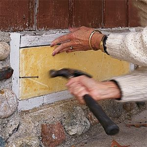 The Simplest Way To Close Foundation Vents For The Winter Is To Plug Them From The Outside With Foam Blocks Made Sp Crawl Space Vents Diy Crawlspace Crawlspace