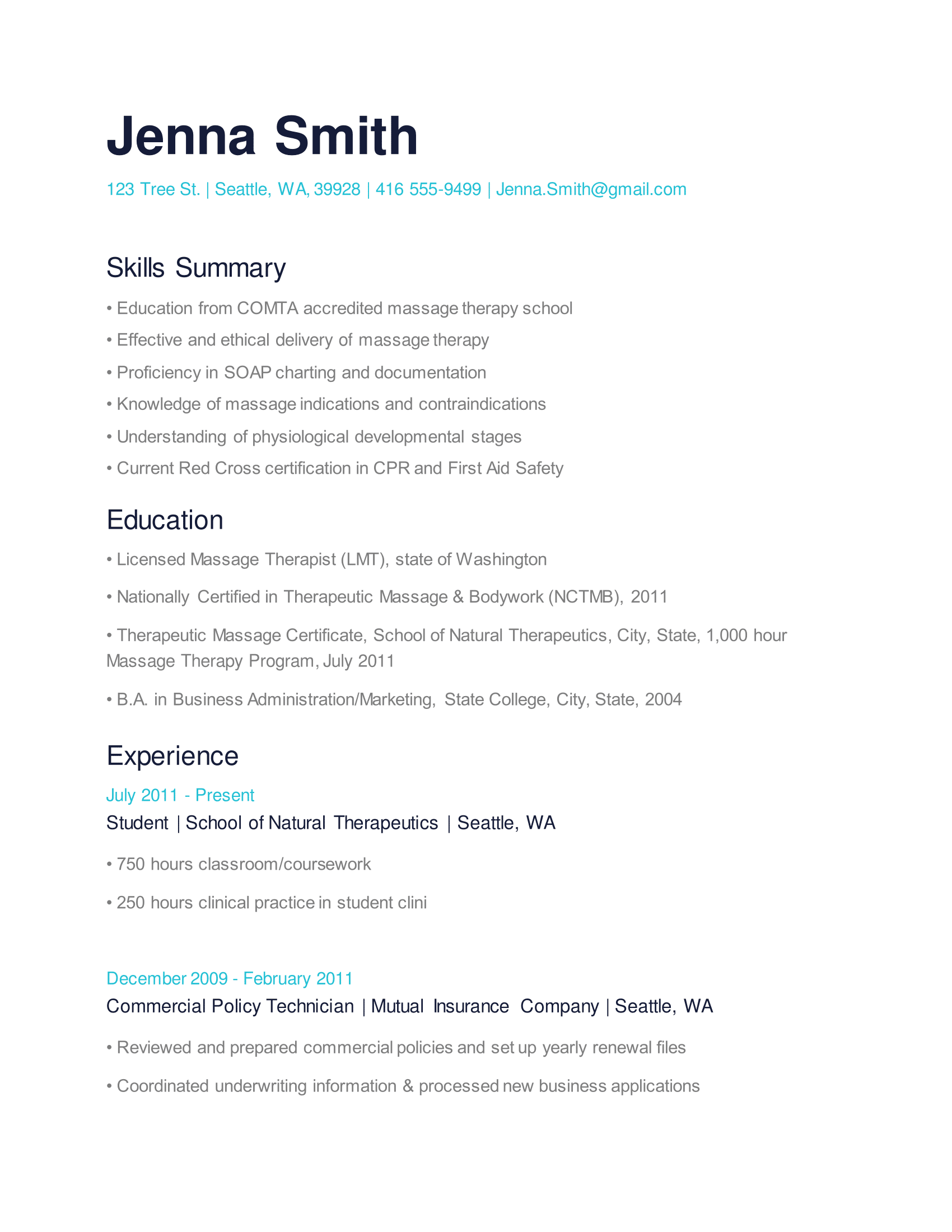 resume with photo without objective sample job experience cover ...