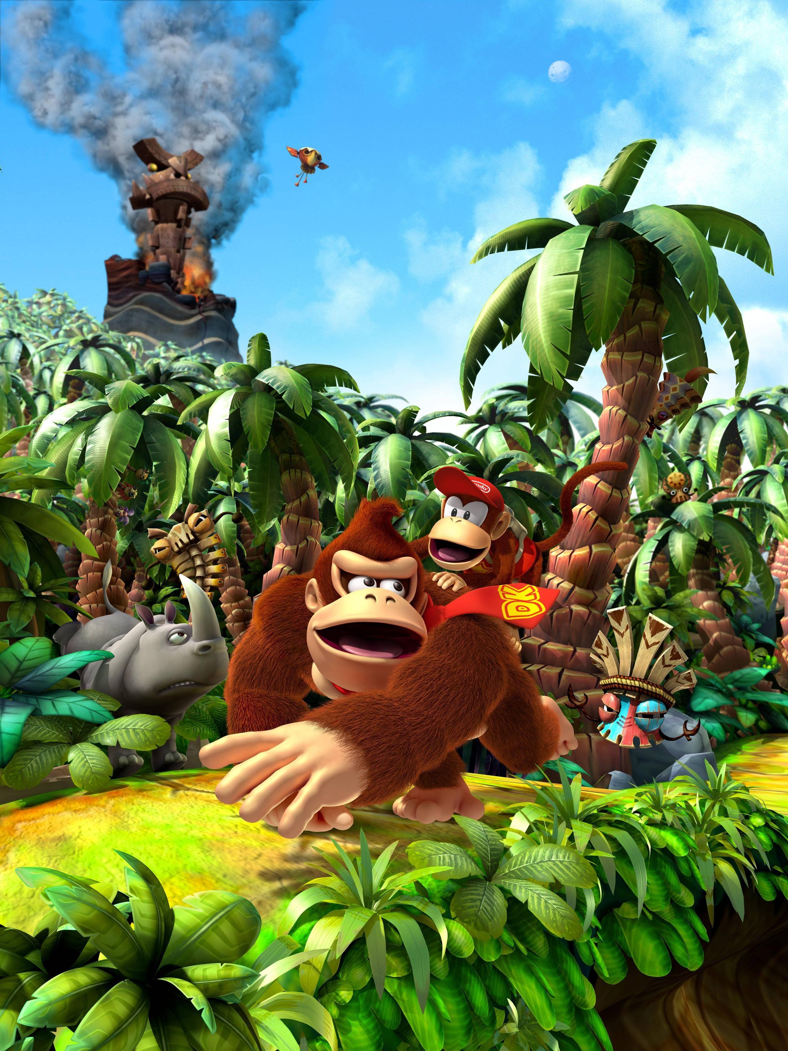 Donkey Kong Country Wallpaper Donkey Kong Donkey Kong Country Returns Donkey Kong Country